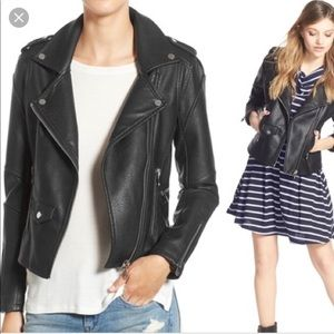 Blank NYC Easy Ryder faux leather jacket